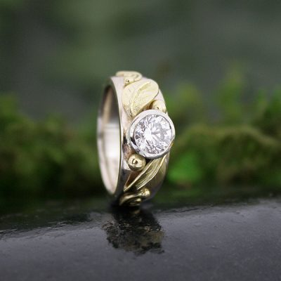 Spring Blossom Diamond Ring