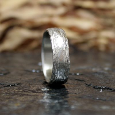 Men's Birch Bark Ring