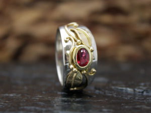 Ruby Giselle Ring