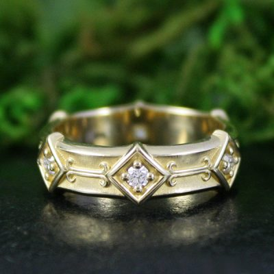 Byzantine Diamond Ring