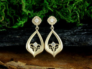 Dancing in the Moonlight Diamond Earrings