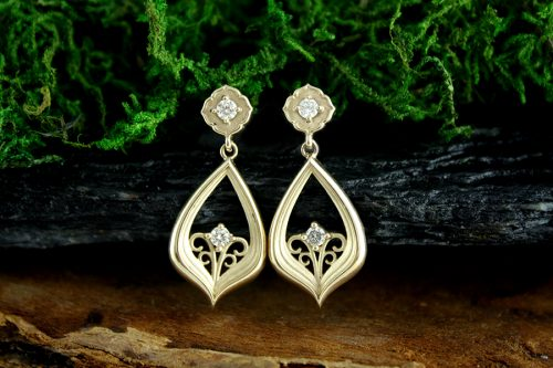 Dancing in the Moonlight Diamond Earrings