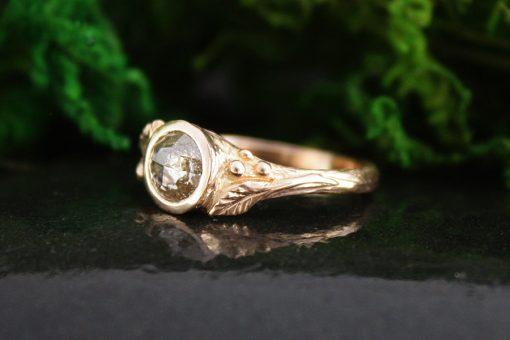 Sequoia Rose Cut Diamond Ring