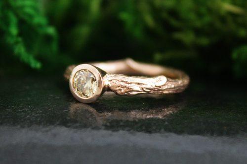 Enchanted Oak Branch Ring