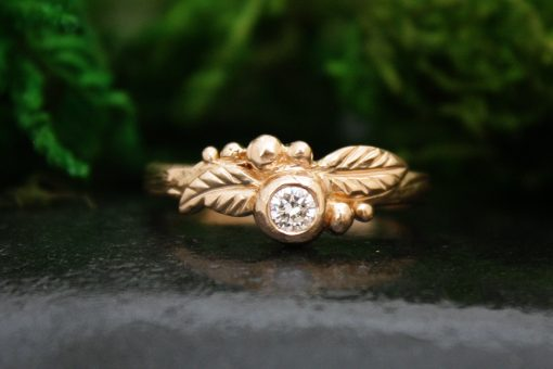 Juniper Rose Gold Diamond Ring