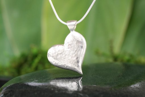 My Joyful Heart Pendant In Silver