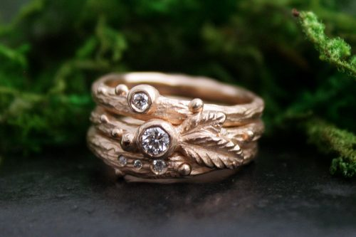 Trinity Grove Stacking Rings