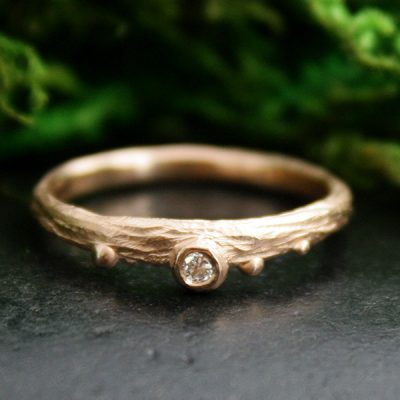 Morning Dew Stacking Ring