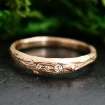 Skipping Pebbles Stacking Ring