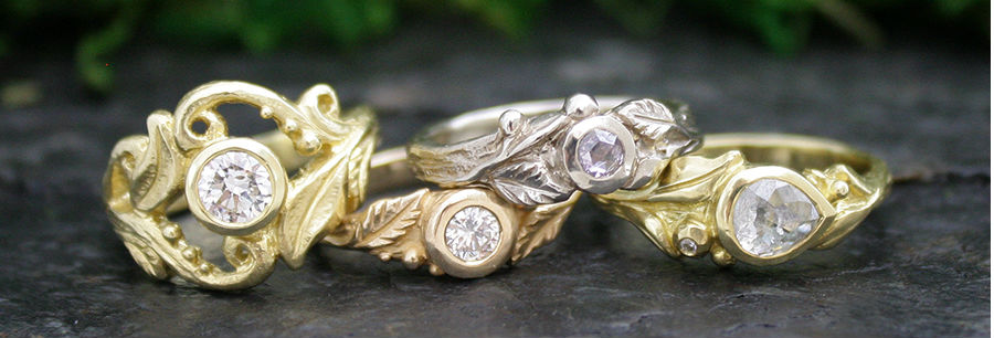 Custom Gold Rings