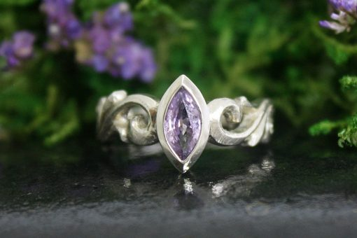 Katarina Purple Sapphire Ring