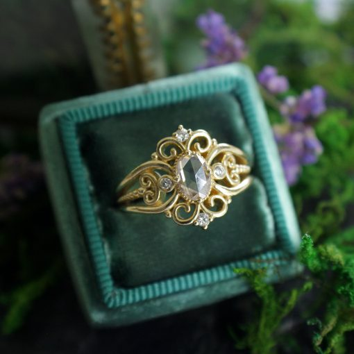Tatiana Champagne Diamond Ring