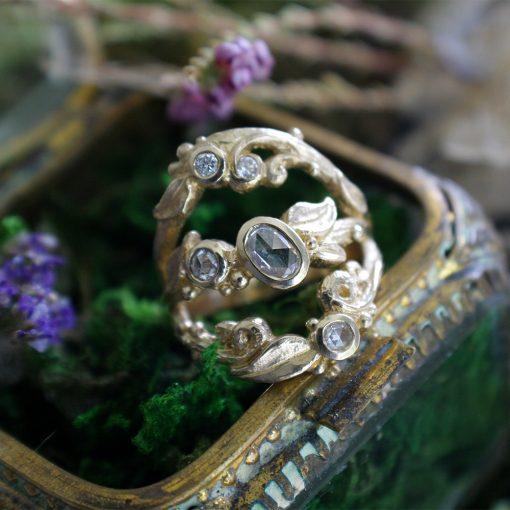 Tree of Life Diamond Ring