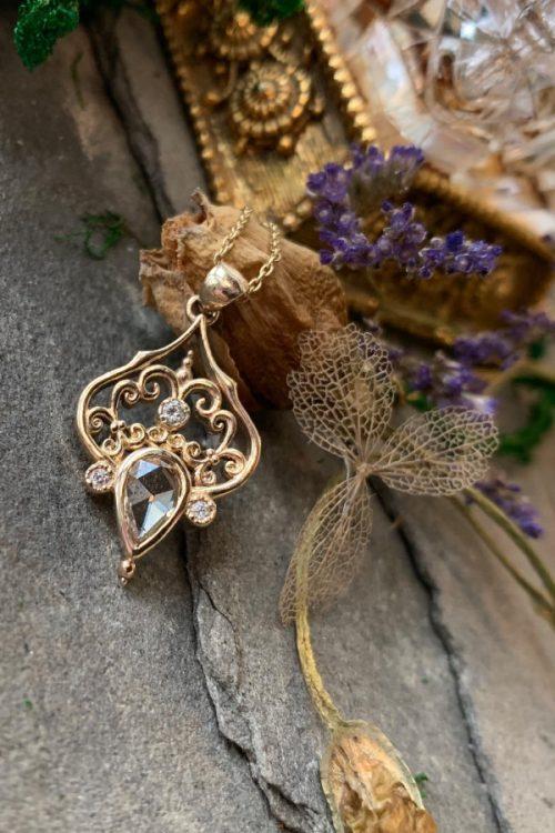 Seraphine Diamond Pendant