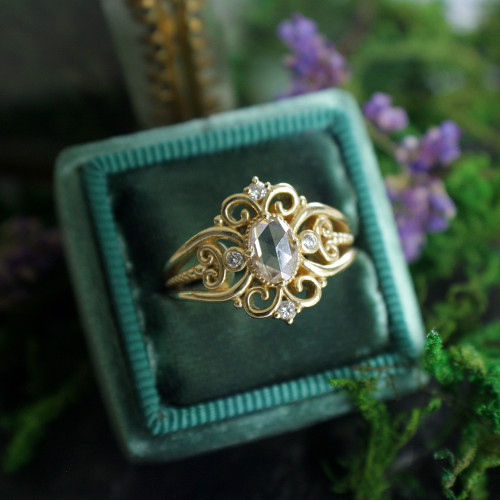 The Tatiana Ring Customized for Clients