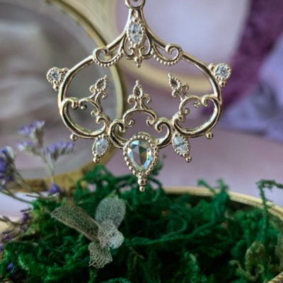 Reyna diamond pendant