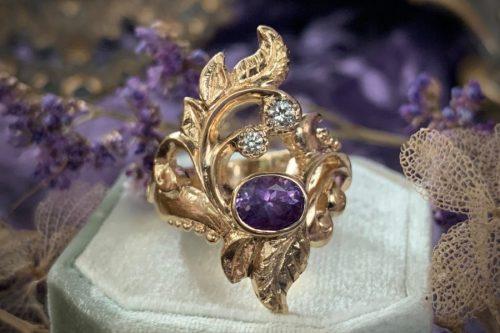 Dream Weaver Statement Ring