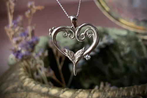 My Precious Heart Gold Pendant with Diamond