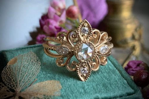 Soleil Diamond Ring
