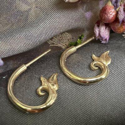 14k Petite Hoop Earring