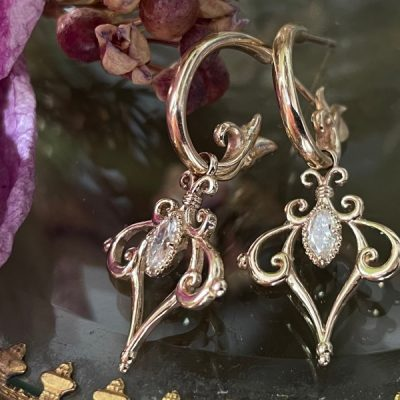 Nikita Marquise Nikita Diamond Earring Charms